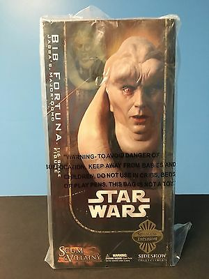 Star Wars Sideshow Collectibles Bib Fortuna Scum And Villainy 1/6 Scale MISB