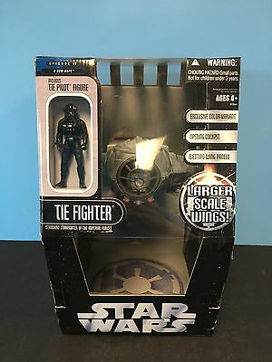 Star Wars The Saga Collection Tie Fighter W/Pilot and Exclusive Color MISB