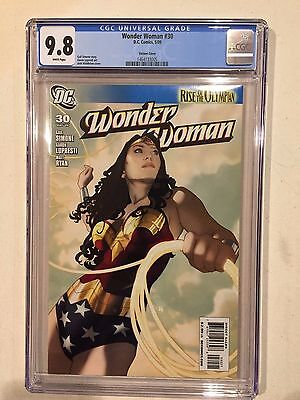 Wonder Woman 30 Cgc 9.8 Shanover Variant White Pages