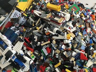 1kg - 100% Authentic Mixed Lego - Star Wars, Lego City Themes