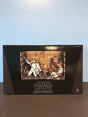 Star Wars Gentle Giant Trash Compactor Collectible Bookends 629/1100