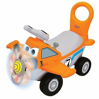 Kiddieland Disney Planes Dusty Activity Toddler Ride-On Push Plane | 049825