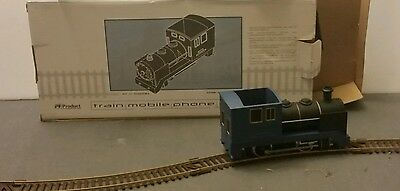 Pricewaterhousecoopers Train Phone Holder Rare Train On Track Moves When Called