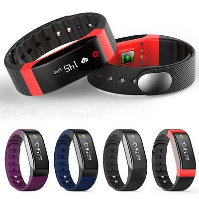 Hot H4 Bluetooth Heart Rate Monitor Smart Touch Bracelet Fitness Wristband