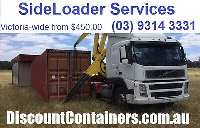 40ft Shipping Container - SideLoaderTransport only - Sale  - 230km