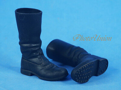1:6 ACTION FIGURE WW2 GERMAN Wehrmacht Officer Long March Boots Shoes FH_2D