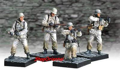 DRAGON 1:35 WW2 German Soldier Diorama WINTER Painted Figure Set MODELS CD_5to8