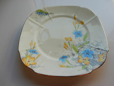 Paragon Hand Painted 1930's Plate (CAKE?) Pattern G747