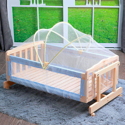 Baby Cradle Bed Mosquito Nets Summer Baby Safe Arched Mosquitos Net