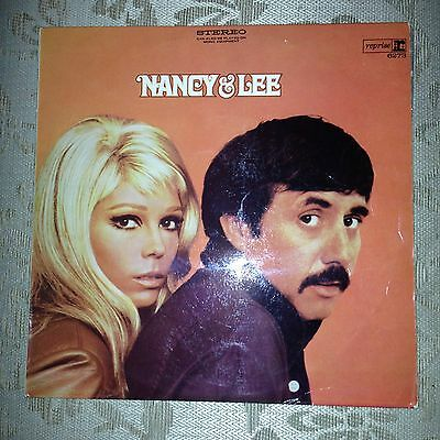 Rare vintage vinyl Nancy And Lee, perfect condition.