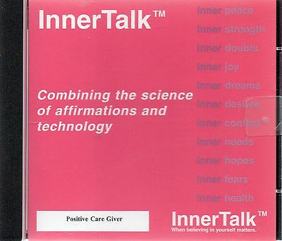 Positive Care Giver - InnerTalk self help programme (audio cd)