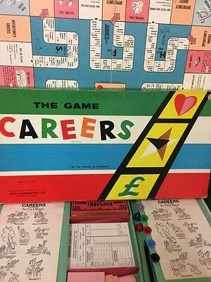 Vintage Careers Board Game by Parker VGC COMPLETE - RARE