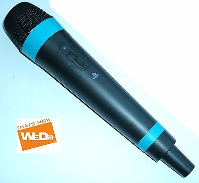 Official Blue Singstar Wireless Microphone Replacement Playstation PS2 PS3 PS4