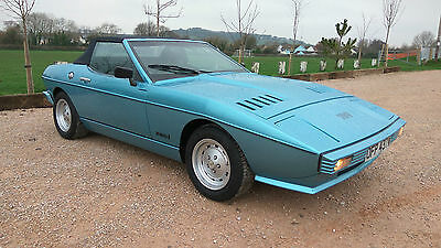 1981 TVR 280i Tasmin Convertible Wedge 2.8i 5 speed manual.