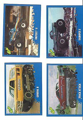 Classic MONSTER TRUCK Vintage Cards, Premier Edition, Set of 42 from 1990, Mint