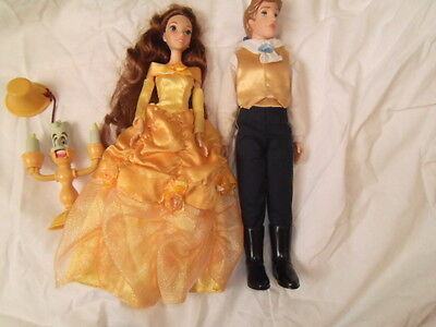 Disney Princess Beauty And The Beast Dolls