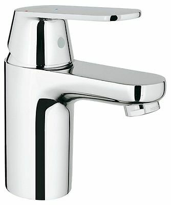 GROHE Eurosmart Cosmopolitan Bathroom Tap, Smooth Tap Body