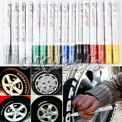 Tread Rubber Metal Paint Tire Marker Pen Car Tyre