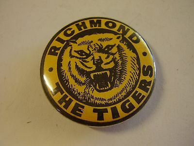 Vintage Richmond The Tigers Button Badge Football Club