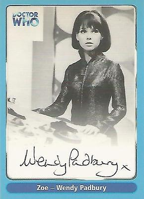 "Doctor Who Definitive Series 1 - A8 Wendy Padbury ""Zoe"" Autograph Card"