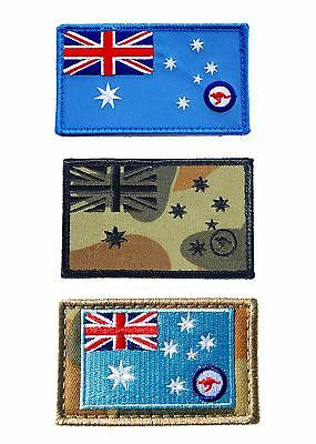 RAAF Ensign Patch - Value Pack - 3 Patches in Total - New