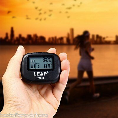 Hot LEAP TF6204 Utility Interval Timer for Yoga Hiit Cardio Tabata with LCD