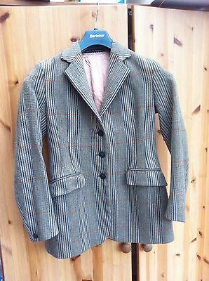 """Foxley Flyde Tweed Show/Hacking Jacket Maids 32"""""""