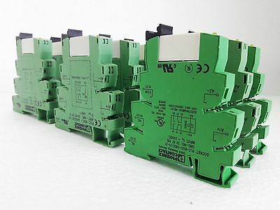 10 Phoenix Contact Plcbsc24Dc/21-21 Relay Socket & Power Relay & Contact 2961192