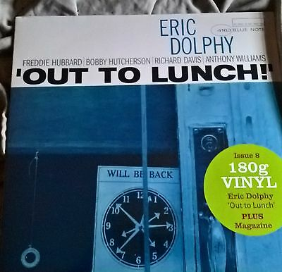 Eric Dolphy ‎– Out To Lunch! - LP - NEW/SEALED