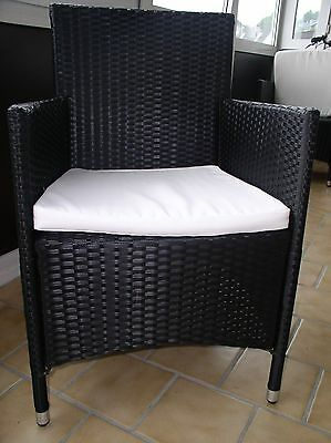 rattan gartenm bel 1tisch 6st hle eur 350 00 picclick de. Black Bedroom Furniture Sets. Home Design Ideas