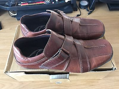 Next Brown Leather shoes Size 9 UK, 43 EU