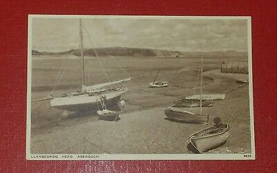 VINTAGE POSTCARD - LLANBEDROG HEAD, ABERSOCH - EARLY 1900's (a)