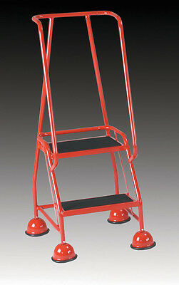 Redhill Two Tread Mobile Safety Steps For Warehouse And Workshops