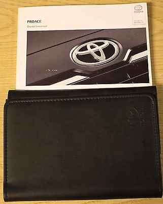 Toyota Proace Owners Manual Handbook Wallet 2013-2015 Pack 11996