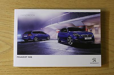 Peugeot 308 And 308 Sw Gti Gt  Owners Manual Handbook 2013-2016