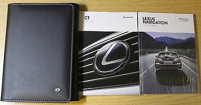 Lexus Ct Handbook Guide Navigation Owners Manual Wallet 2014-2016 Pack 3560