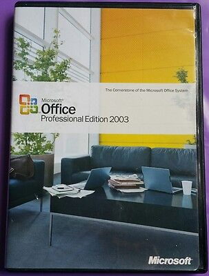 Microsoft Office 2003 Professional Full Genuine  Retail With Product Key