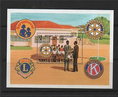 Turks & Caicos 1980 Serving The Community MS SG 613 MNH