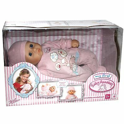 "Zapf Creation My First Baby Annabell ""BABY MOVES""  Puppe bewegt sich NEU OVP a4u"