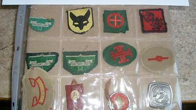 N°9 insignes scout
