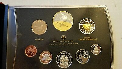 Canada 2009 Proof Set 8 Coins Royal Canadian Mint Silver