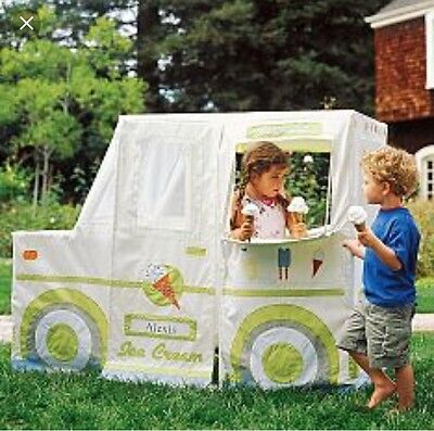Rare Pottery Barn Kids Ice Cream Truck Playhouse Cover Only  NEW