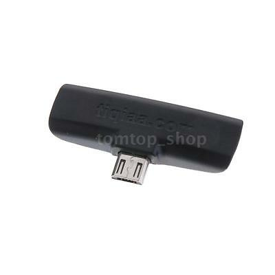 Wireless Infrared IR Mini Remote Control Adapter For OTG Android Smartphone W4H5