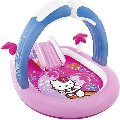 Piscina gonfiabile Intex Hello Kitty con scivolo