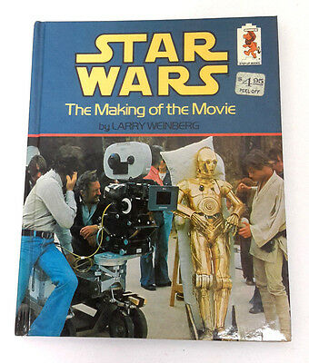 1980 STAR WARS Making of the Movie Hardcover Book w Photos- UNREAD (M5846)