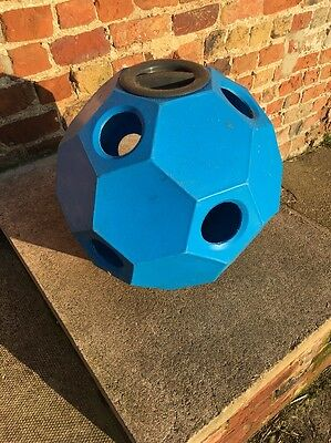 Hay Play Horse Feeder - Perfect Condition BLUE