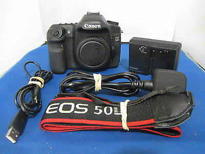 Canon 50D Digital Camera Body Only + Free Uk Postage