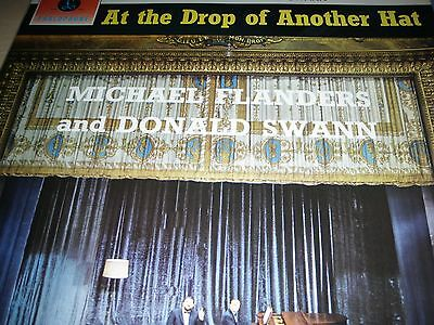 Michael Flanders and Donald Swann At The Drop Of Another Hat LP 1964 PCS 3052