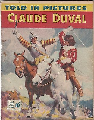 Thriller Comics Library. Number 144. Claude Duval. 1956