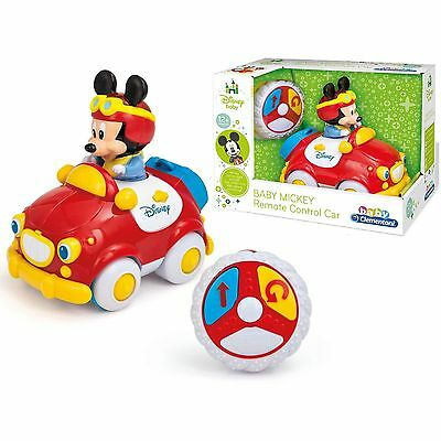 Disney Baby Mickey My First Remote Control Toy Car 12 + Months NEW BOXED